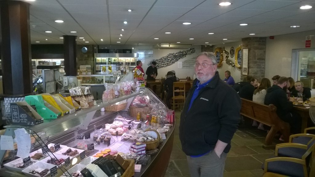 Severn & Wye Smokery Restaurant & Chocolate counter