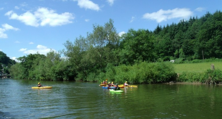Kayak River Wye