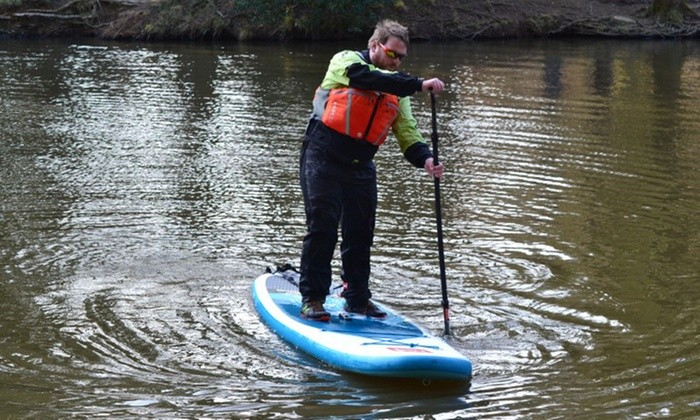 way to go paddle boarding